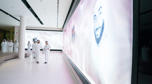 Mohamed bin Zayed tours The Founder's Memorial