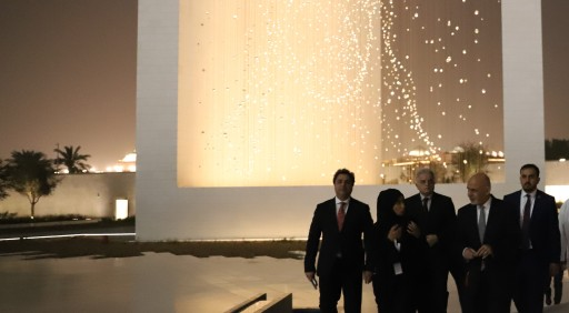 Afghan President visits The Founder's Memorial
