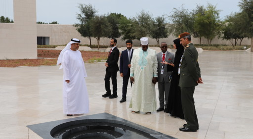 Prime Minister of the Republic of Guinea visits The Founder's Memorial