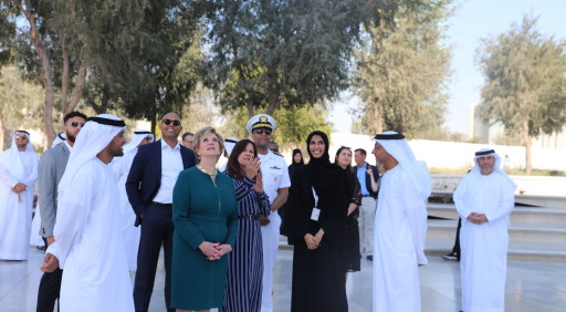 Wife of US Vice President visits 'The Founder's Memorial'